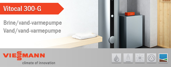 vitocal 300 g h j ydelse og st jsvag drift byg danmark. Black Bedroom Furniture Sets. Home Design Ideas